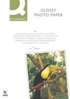 Q Connect A4 180gsm Glossy Photo Paper - 50 Pack