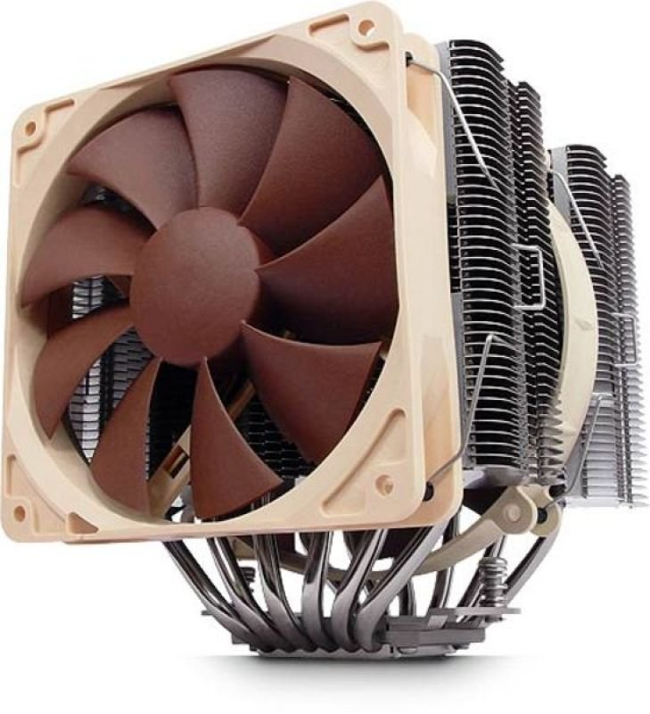 Noctua NH-D14 Dual Radiator and Fan Socket LGA 1366, 1156, 1155, 1150, 775, AM3, AM3+, AM2+, AM2 CPU Cooler