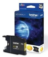 Brother LC1280XLY Super High Yield Yellow Toner Ink Cartridge - 1,200 Pages
