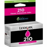 Lexmark No. 210 Magenta Ink Cartridge