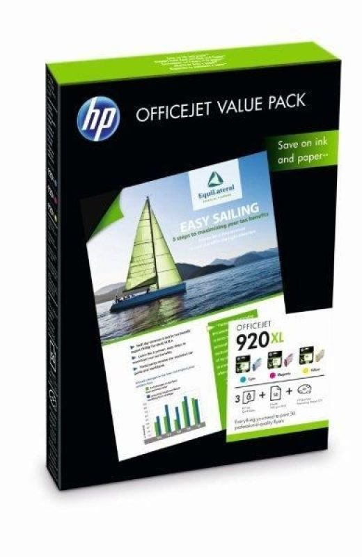 HP 920XL Officejet Value Pack Print cartridge/ Paper kit - CH081AE
