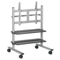 Vogel'S Professional Series, LCD/Plasma Floorstands & Trolleys, Plasmaboy Trolley 100Cm Height (Silver Colour)