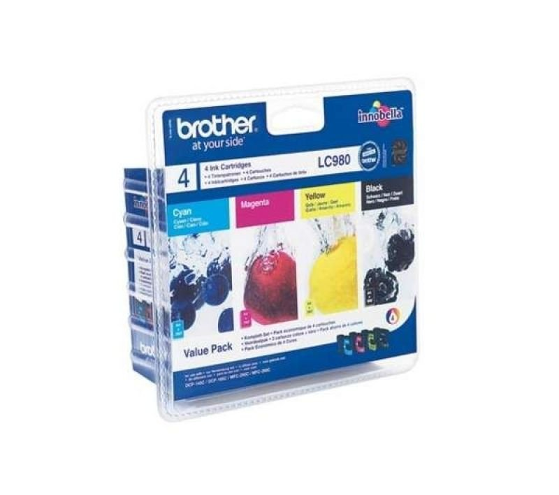 Brother LC980 Colour Ink Cartridge