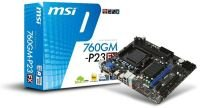 MSI 760GM-P23 (FX) Socket AM3+ VGA DVI 7.1 Channel Audio mATX Motherboard