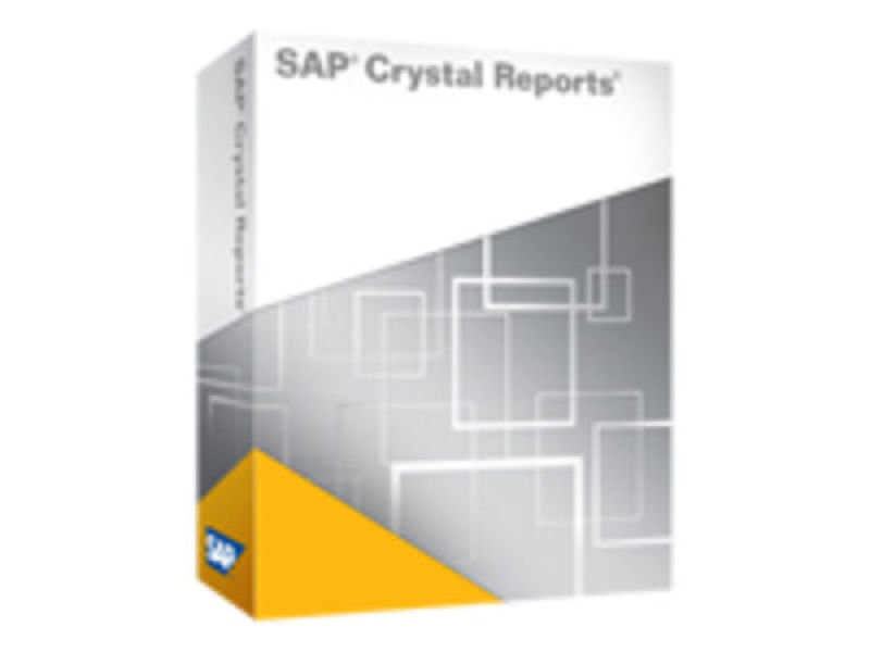 Image of Crystal Reports 2008 - Complete package - 1 named user - CD - Win - Multilingual