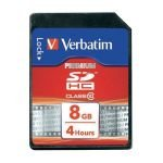 Verbatim 8GB Secure Digital High Capacity Card