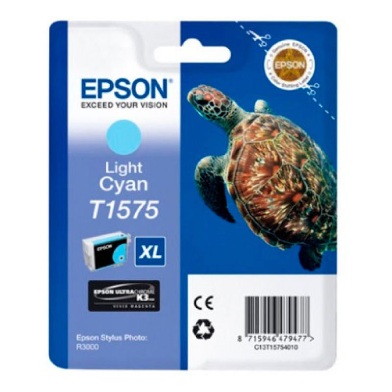 Epson T1575 Stylus Photo R3000 Light Cyan