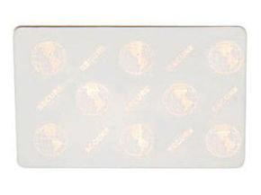 Zebra Premier Security Embedded Hologram PVC Cards - 5 Packs of 100