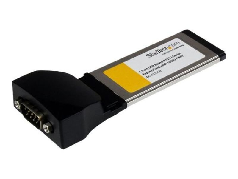 StarTech 1 Port ExpressCard to RS232 DB9 Serial Adapter Card