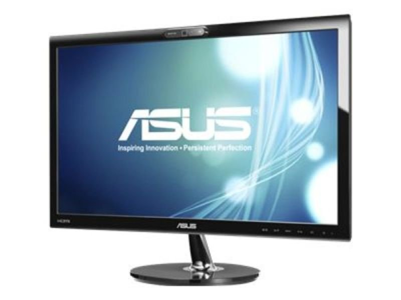 Asus VK228H LED LCD 21.5&quot HDMI Monitor with Speakers & Webcam