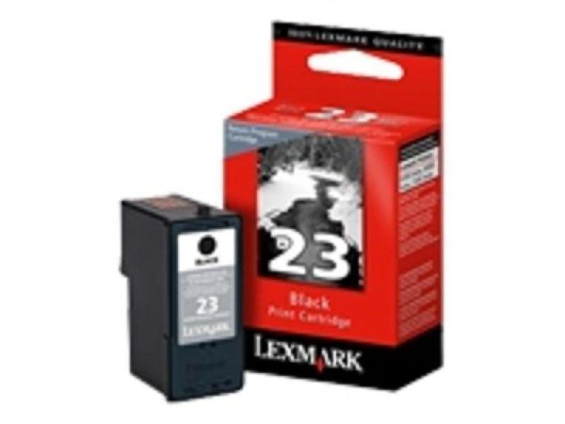LEXMARK No23 ORIGINAL BLACK INKJET CARTRIDGE