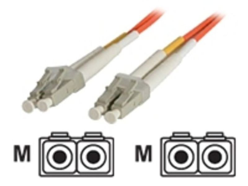 10m Multimode 50/125 Duplex Fiber Patch Cable LC - LC