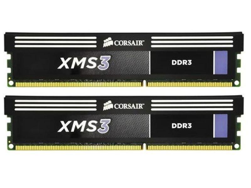 Corsair 8GB DDR3 1600MHz XMS3 Memory
