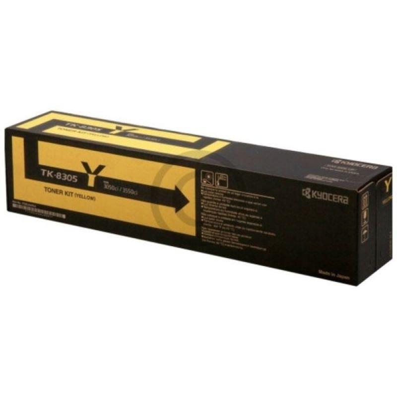 Kyocera TK 8305Y Yellow Toner Cartridge