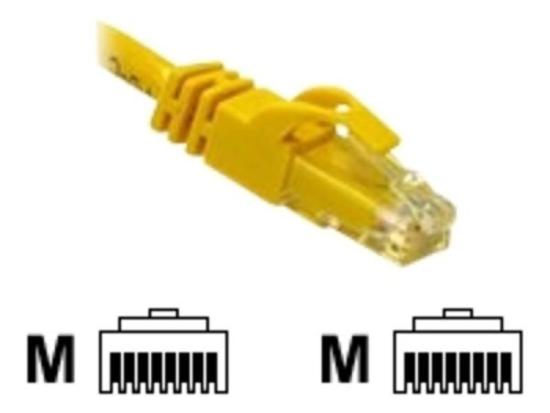 C2G, Cat6 550MHz Snagless Patch Cable Yellow, 10m
