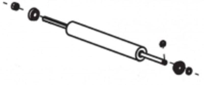 Zebra 140 Kit Platen Roller