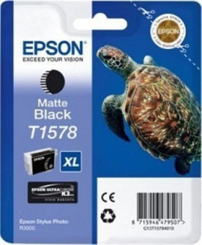 Epson T1578 STYLUS PHOTO R3000 MATTE BLACK INK