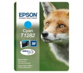 *Epson T1282 Inkjet Cartridge Capacity 3.5ml Cyan