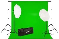 Professional Photo Studio Backdrop and Lighting Kit