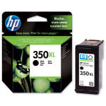 HP 350XL Black Ink Cartridge - CB336EE
