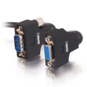 C2G, VGA270 HD15 M/F UXGA Monitor Extension Cable, 0.5m