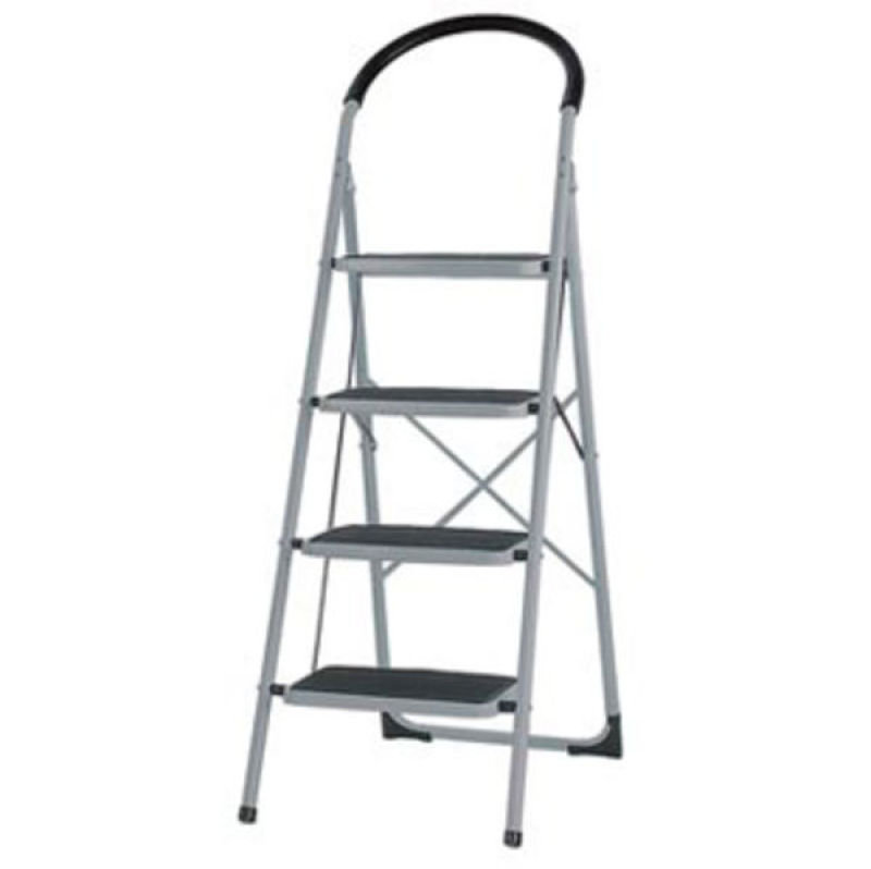 STEP LADDER 4 TREAD GREY/BLUE 359295