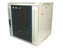 StarTech.com 12U 19in Hinged Wall Mount Server Rack Cabinet w/ Vented Glass Door