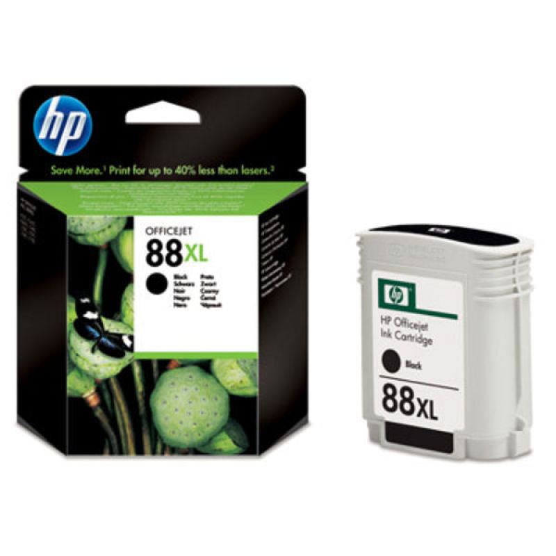 HP 88XL Black Ink Cartridge - C9396AE