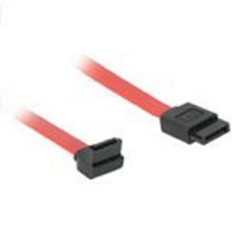 C2G, 7-pin 180° to 90° Serial ATA Device Cable, 0.5m