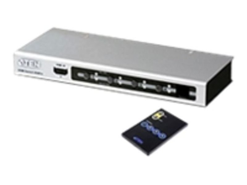 Aten VS481A 4-Port HDMI Switch with Remote Control