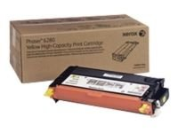 Xerox 106R01394 High Yield Yellow Laser Toner Cartridge 5900 Pages