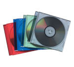 Fellowes Slimline Jewel Case 10 - Coloured
