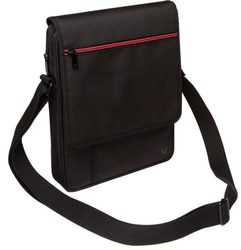 "Image of V7 Vertical Messenger Tablet Case For Tablets up to 10"" - Black"