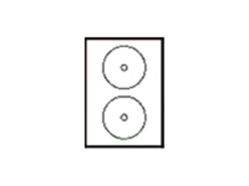 avery full face cd dvd labels 117mm diameter j8676 100 pack of 200