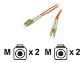 C2G, LC/LC LSZH Duplex 50/125 Multimode Fibre Patch Cable, 10m