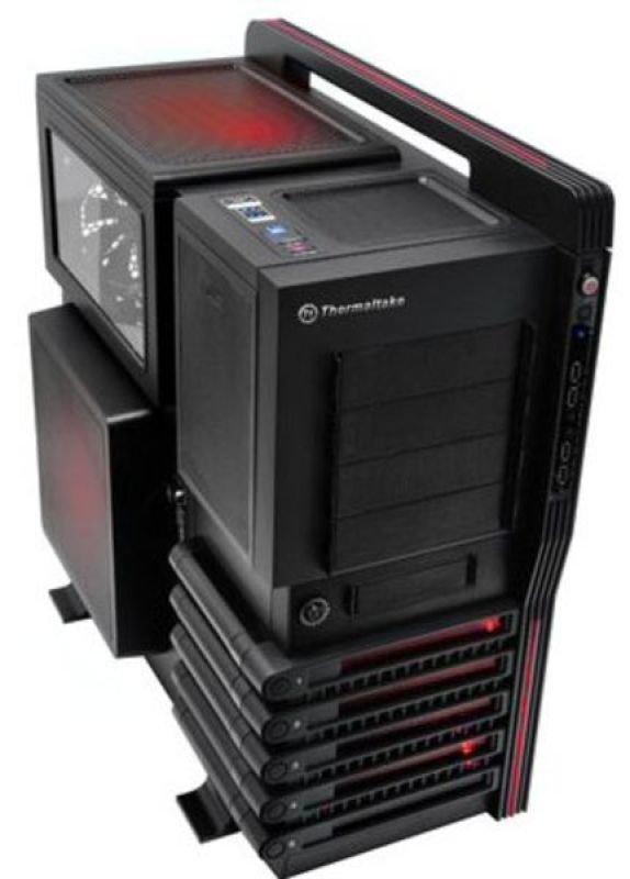 Thermaltake Level 10 GT Gaming Tower Black Interior 2 x USB3.0 Multi-Colour LEDs
