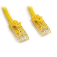 StarTech.com Snagless Cat6 UTP Patch Cable 7.6m Yellow