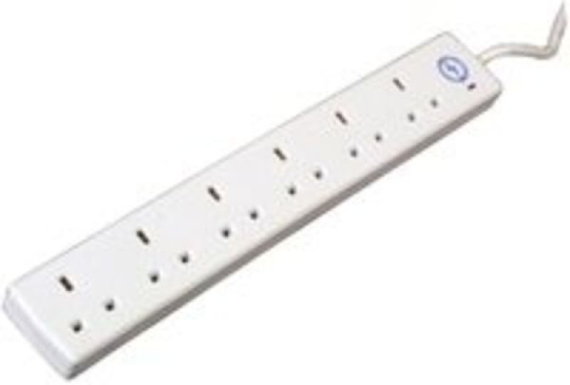 CED Extension Lead 6 Gang Surge Protection