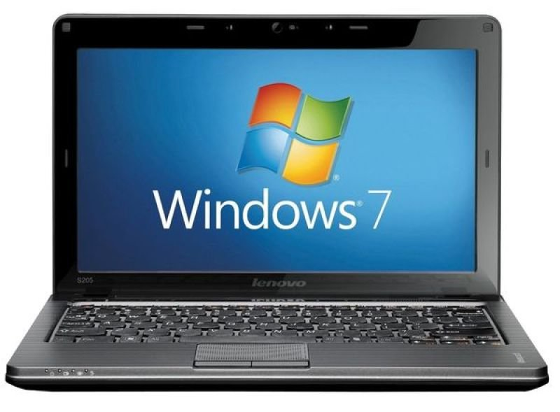 "Lenovo Ideapad S205 Laptop, Amd E450 1.65ghz, 4gb Ram, 500gb Hdd, 11.6"" Led, Noopt, Ati Hd6310, Webcam, Bluetooth, Windows 7 Home Premium"