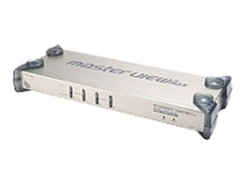 Aten 4 Port Ps2/usb Kvm Switch + Audio Cascadable