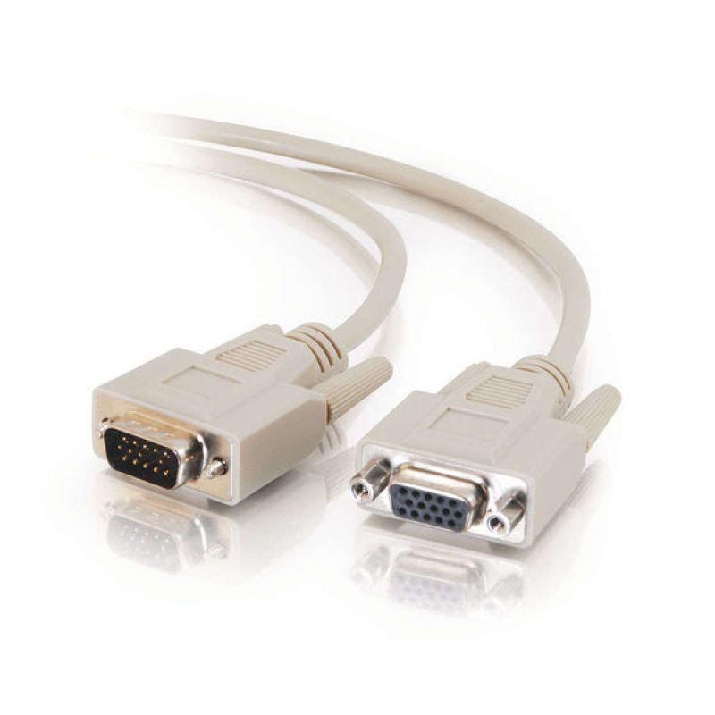 C2G, Economy HD15 M/F SVGA Monitor Extension Cable, 2m