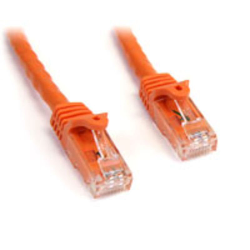 StarTech.com Snagless Cat6 UTP Patch Cable 3m Orange