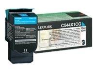 Lexmark 0C544X1CG Cyan Toner Cartridge
