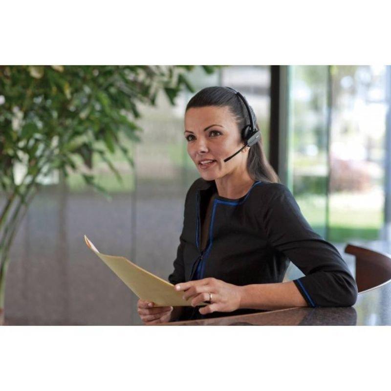 Plantronics Cs520 Wireless Binaural Dect Headset Ebuyer