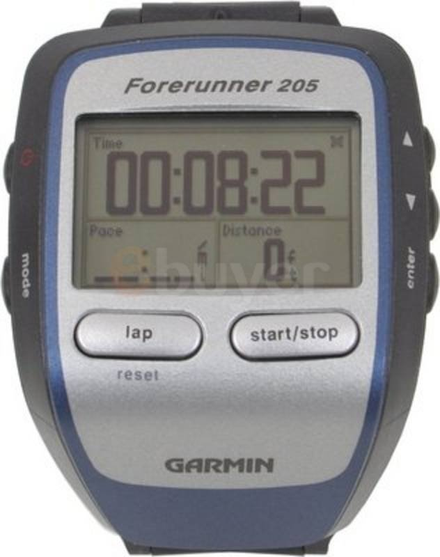 Garmin Forerunner 205 - Easy to use, Reliable, Stylish Design