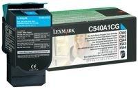 Lexmark 0C540A1CG Return Program Cyan Toner Cartridge 1000 Pages