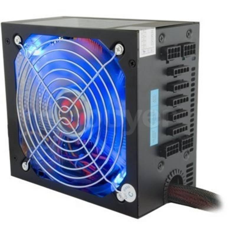Hi-Power Black 1000W Modular 13.5cm Fan PSU - 4x PCI-E, 20+4pin, 6x SATA