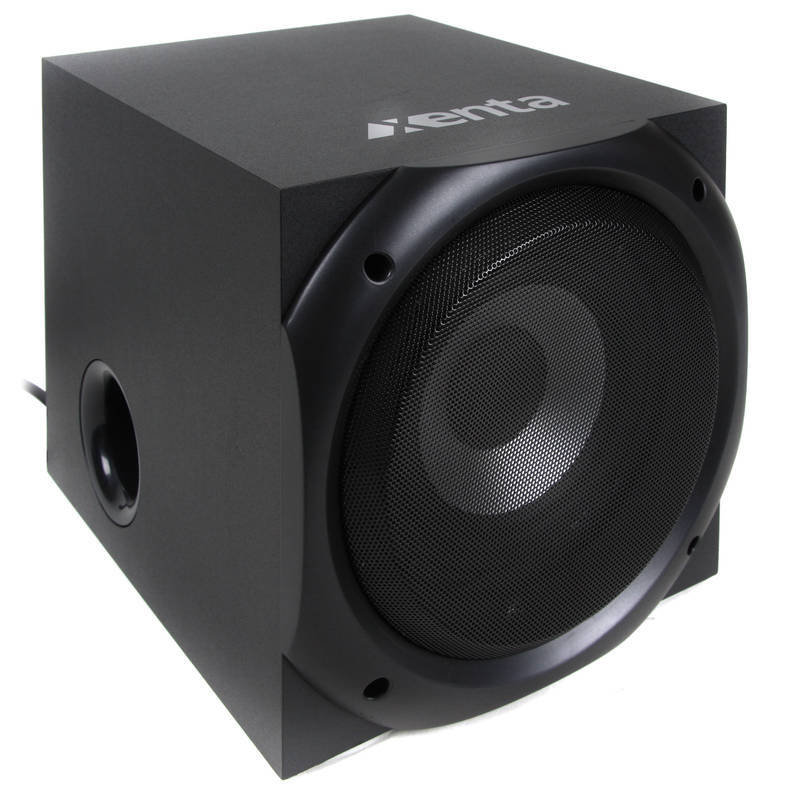 Xenta XForce 5.1 Surround Sound Speakers - 80W RMS