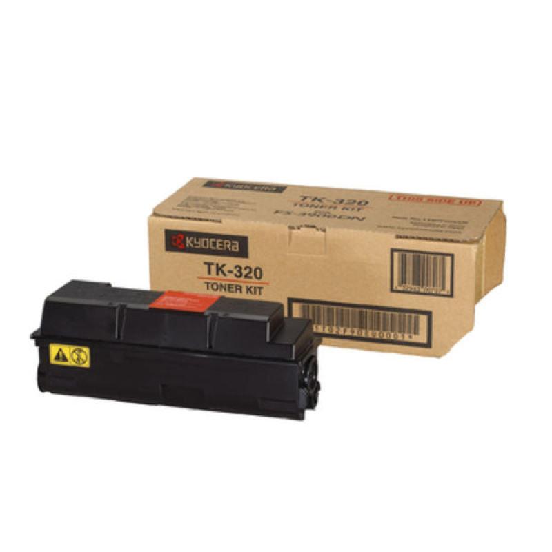 Kyocera TK 320 Black Toner Cartridge