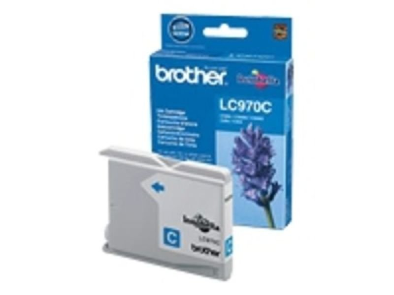 Brother LC970C Cyan Ink Cartridge - 300 Pages